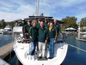 Board Members - PAC RIM Sailing Team 2016 Nakhodka Russia low res 1000px 750px - Social & Competitive Sailing Club - Port Stephens Yacht Club
