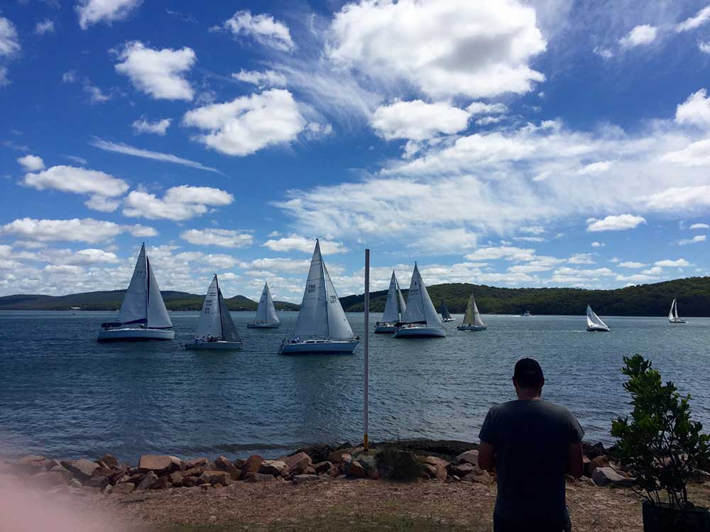 Berman Trophy - Social & Competitive Sailing Club - Port Stephens Yacht Club