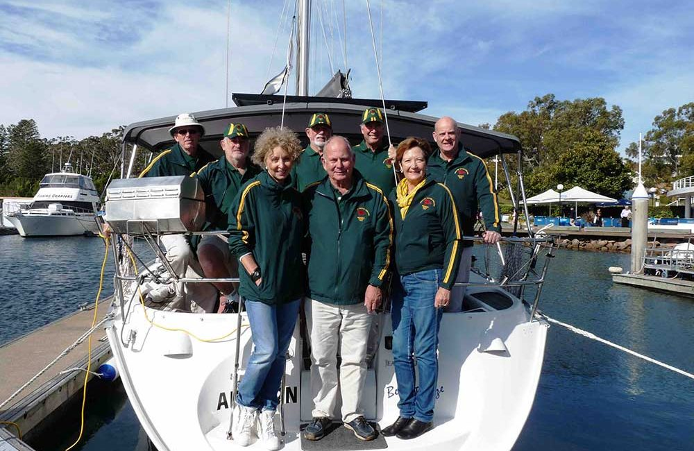 Board Members - PAC RIM Sailing Team 2016 Nakhodka Russia low res 1000px 750px - Social & Competitive Sailing Club - Port Stephens Yacht Club